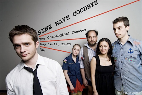 Sine Wave Goodbye Poster